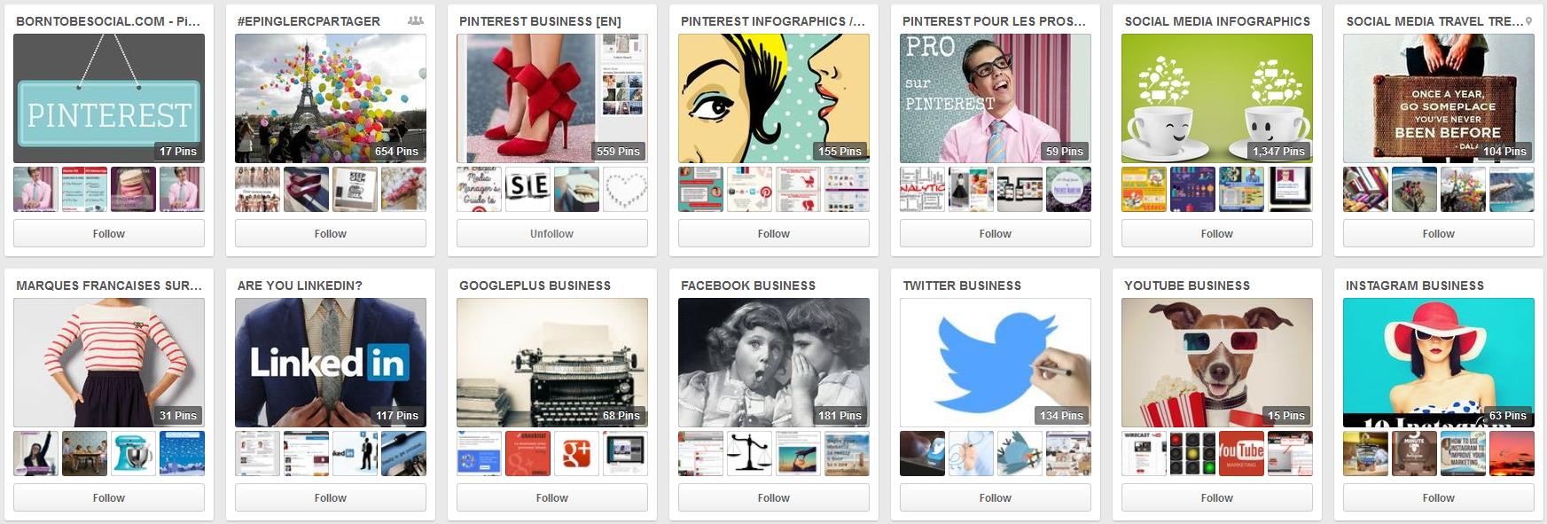 BornToBeSocial's boards on Pinterest