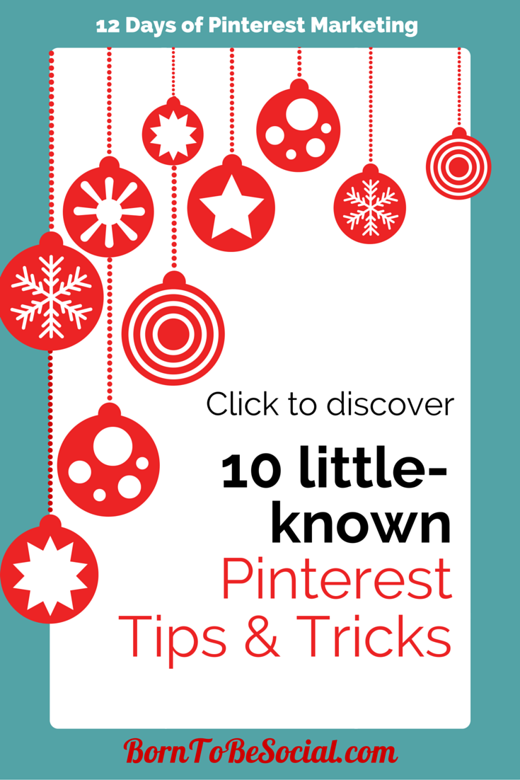 10 Little-known Pinterest Tips & Tricks - Click to discover!
