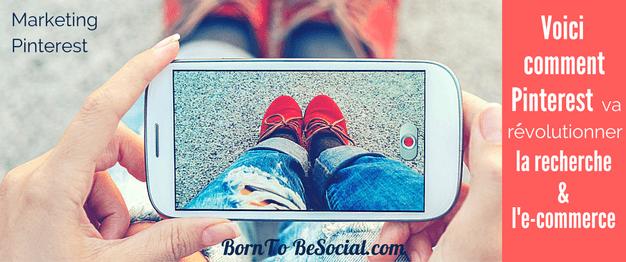 VOICI COMMENT PINTEREST VA RÉVOLUTIONNER LA RECHERCHE & L'E-COMMERCE - La découverte est au cœur de Pinterest. Pinterest fait un pas de plus dans l'e-commerce avec l'introduction de 3 nouvelles fonctionnalités. Si vous vendez des produits ou des services en ligne, il est grand temps de commencer à soigner et optimiser votre positionnement dans les résultats de recherche Pinterest | via @BornToBeSocial - Votre Partenaire Pinterest | Conseil & Accompagnement