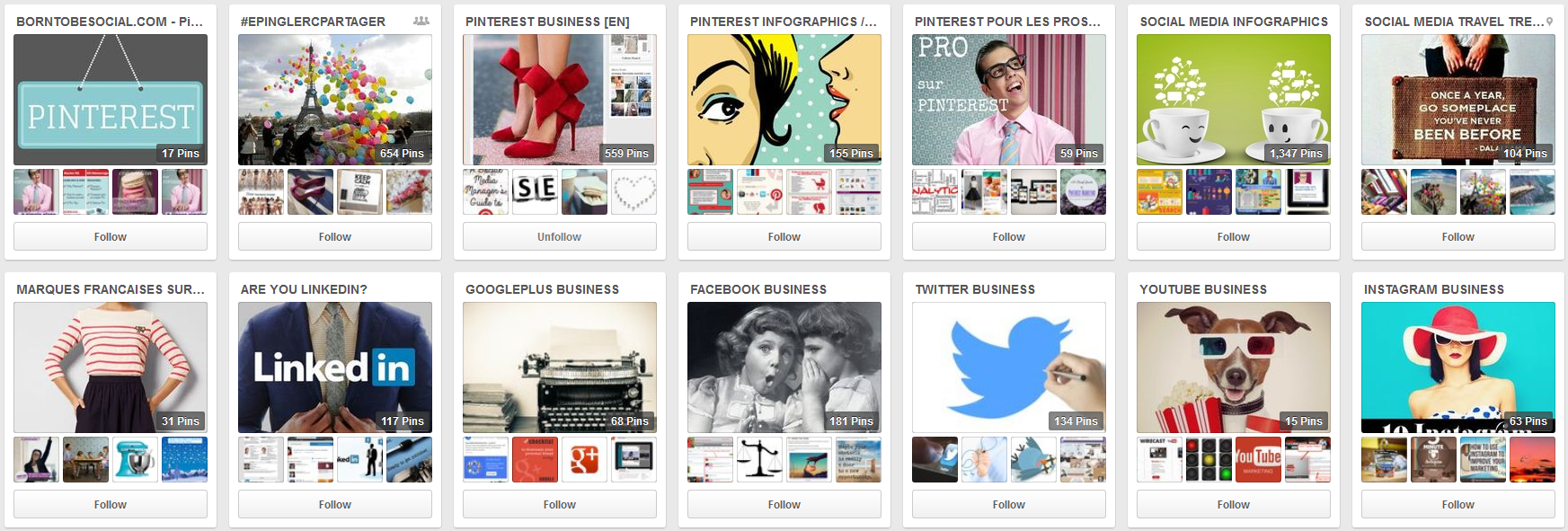 BornToBeSocial's boards on Pinterest