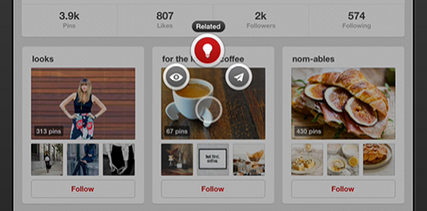 Finding related boards on Pinterest - BornToBeSocial.com