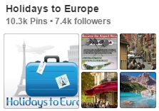 Holidays to Europe on Pinterest