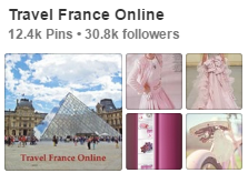 Travel France Online on Pinterest