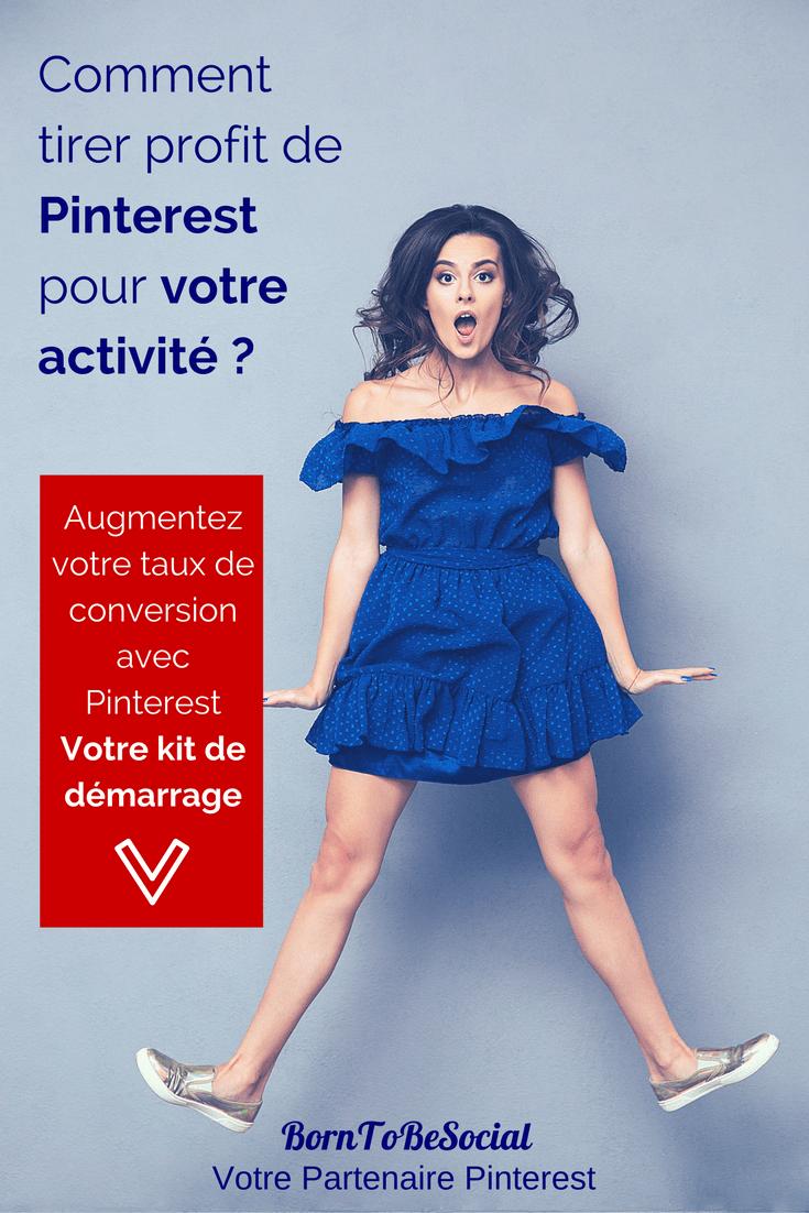 Épingler C'est Gagner ! Boostez votre trafic avec Pinterest - Votre kit de démarrage de 9 pages pour vous aider : À décider si Pinterest est compatible avec votre activité. Le marketing sur Pinterest, est-il un investissement judicieux pour vous ? À démarrer en 3 étapes simples ! Des conseils pratiques sur la création (ou conversion) d'un compte pro sur Pinterest. À vous lancer - Épinglez comme un pro en suivant 15 conseils pratiques pour démarrer sur Pinterest.   BornToBeSocial.com - Pinterest Marketing & Consulting   Conseil & Formation Pinterest