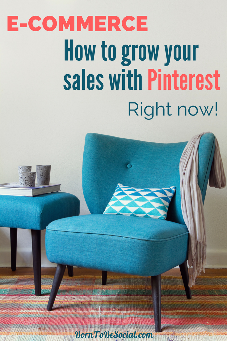 E-COMMERCE: HOW TO INCREASE YOUR SALES WITH PINTEREST RIGHT NOW! - The future for shopping on Pinterest looks very rosy indeed. For online shopping, Pinterest towers over Facebook and Instagram. In the US, a whopping 55% of Pinterest users use it primarily for finding and shopping for products! Read on to find out how to increase your e-commerce sales in the world's catalogue of ideas. | via #BornToBeSocial, Pinterest Marketing & Consulting | Your Pinterest Partner