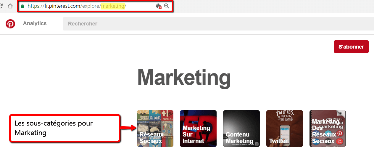 Description - COMMENT FAIRE AFFLUER DES LECTEURS VERS VOTRE BLOG PRO AVEC PINTEREST. Le problème avec les catégories préconfigurées de Pinterest est qu'il ne soit pas toujours facile d'identifier la bonne catégorie pour vos produits ou services. | BornToBeSocial - Votre Partenaire Pinterest | Conseil & Accompagnement Pinterest