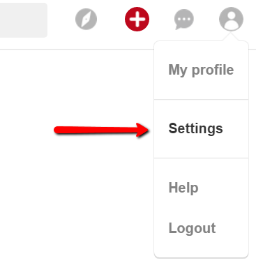 Pinterest Profile Settings