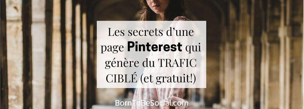 Vous rêvez d'un TRAFIC CIBLÉ (et gratuit...) vers votre site ? Envie de gagner en visibilité et d'augmenter vos ventes ? Voici comment créer une page Pinterest qui attire VOTRE CLIENT IDÉAL. 10 pages de conseils pratiques & détaillés. BornToBeSocial – Pinterest pour les Pros | Conseil & Accompagnement #Tuto #ExpertPinterest #PinterestPourLesPros #PinterestForBusiness #PinterestMarketing