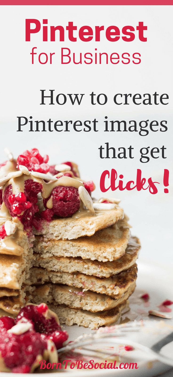 THIS IS HOW TO CREATE PINTEREST IMAGES THAT GET CLICKS! – A picture speaks a thousand words, especially on Pinterest. To attract attention, compelling images are key. Here's what you need to know to get people to click and share your pins. | via @BornToBeSocial, Pinterest Marketing & Consulting | Pinterest for Business #ExpertPinterest #PinterestForBusiness #PinterestMarketingTips #Pinterest