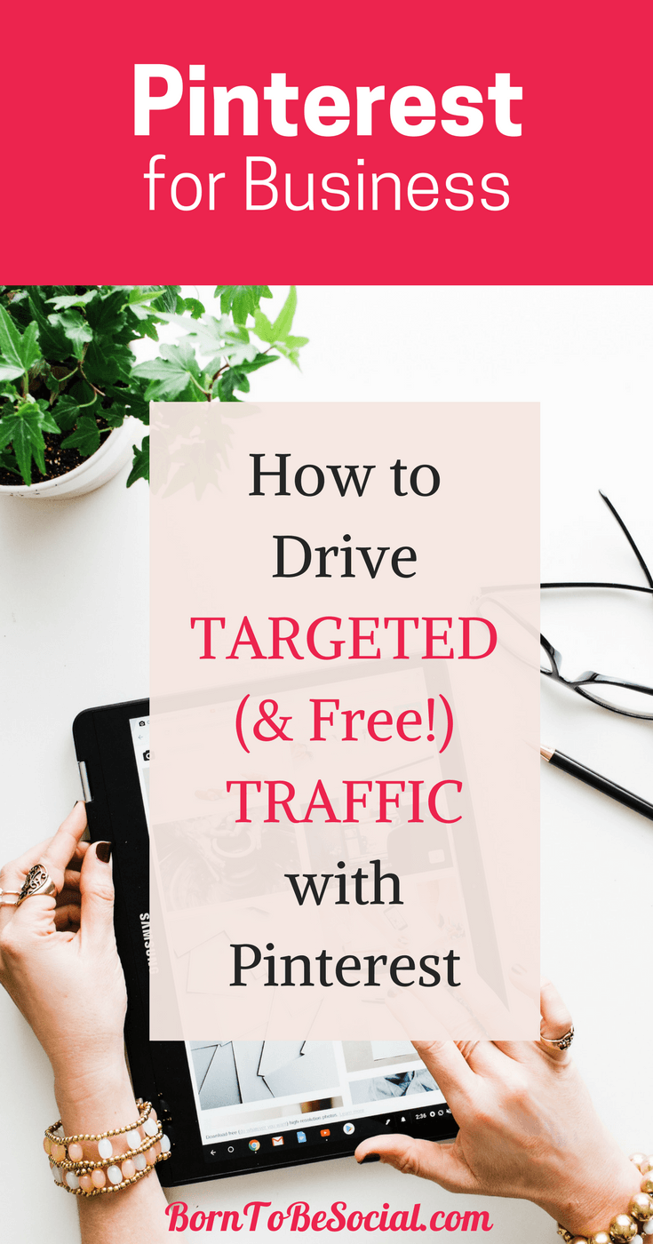 Build a Pinterest Profile that Drives TARGETED (& Free!) SITE TRAFFIC.  Learn how to increase traffic to your website with these Pinterest Marketing Tips. Pinterest Marketing Strategies that will attract your ideal client and send you highly targeted traffic. | via @BornToBeSocial, Pinterest Marketing & Consulting | Pinterest for Business #ExpertPinterest #PinterestForBusiness #PinterestMarketingTips #Pinterest